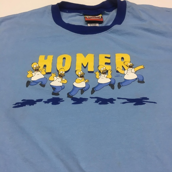 0f77ceceb The Simpsons Shirts | Homer Ringer T Shirt Graphic Tee M | Poshmark